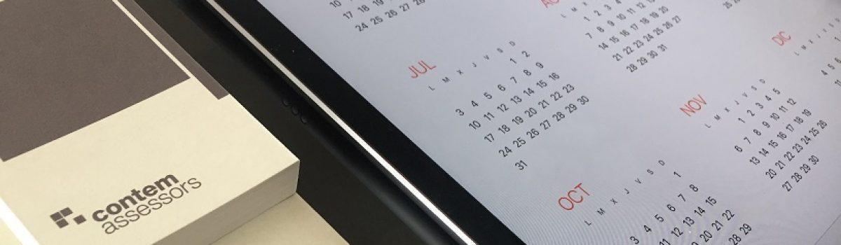 Calendario obligaciones empresa, autónoms y entidades: Octubre